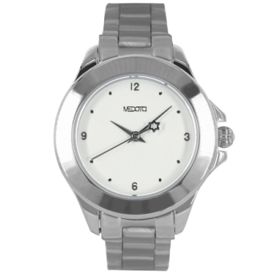 MEDOTA  Daisy 系列復古簡約白色表面女錶 / DS-9801