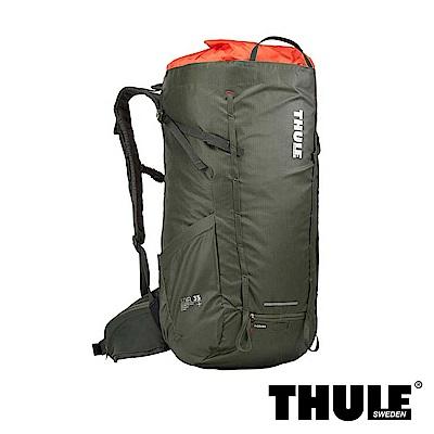 Thule Stir 35L Men 男用登山健行包 - 深綠