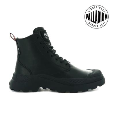 PALLADIUM PALLAKIX MID SK軍種皮革靴-男-黑