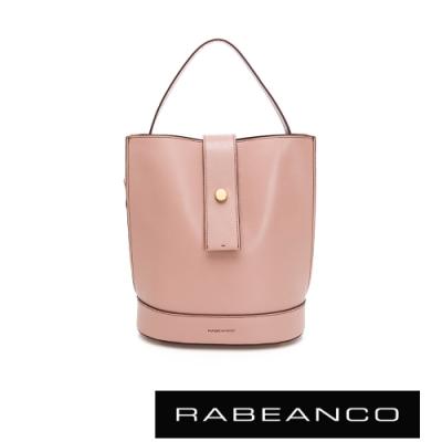 RABEANCO ARIA手提/肩背水桶包 粉色