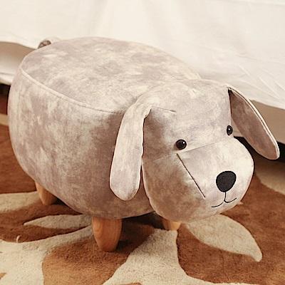 BuyJM絨布狗狗造型椅凳/沙發凳