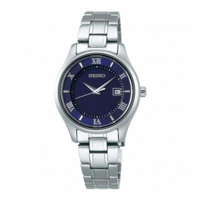 SEIKO精工 SPIRIT藍寶石鏡面鈦金屬太陽能腕錶STPX065J