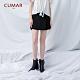 【CUMAR】質感活褶短-褲裙(二色) product thumbnail 1