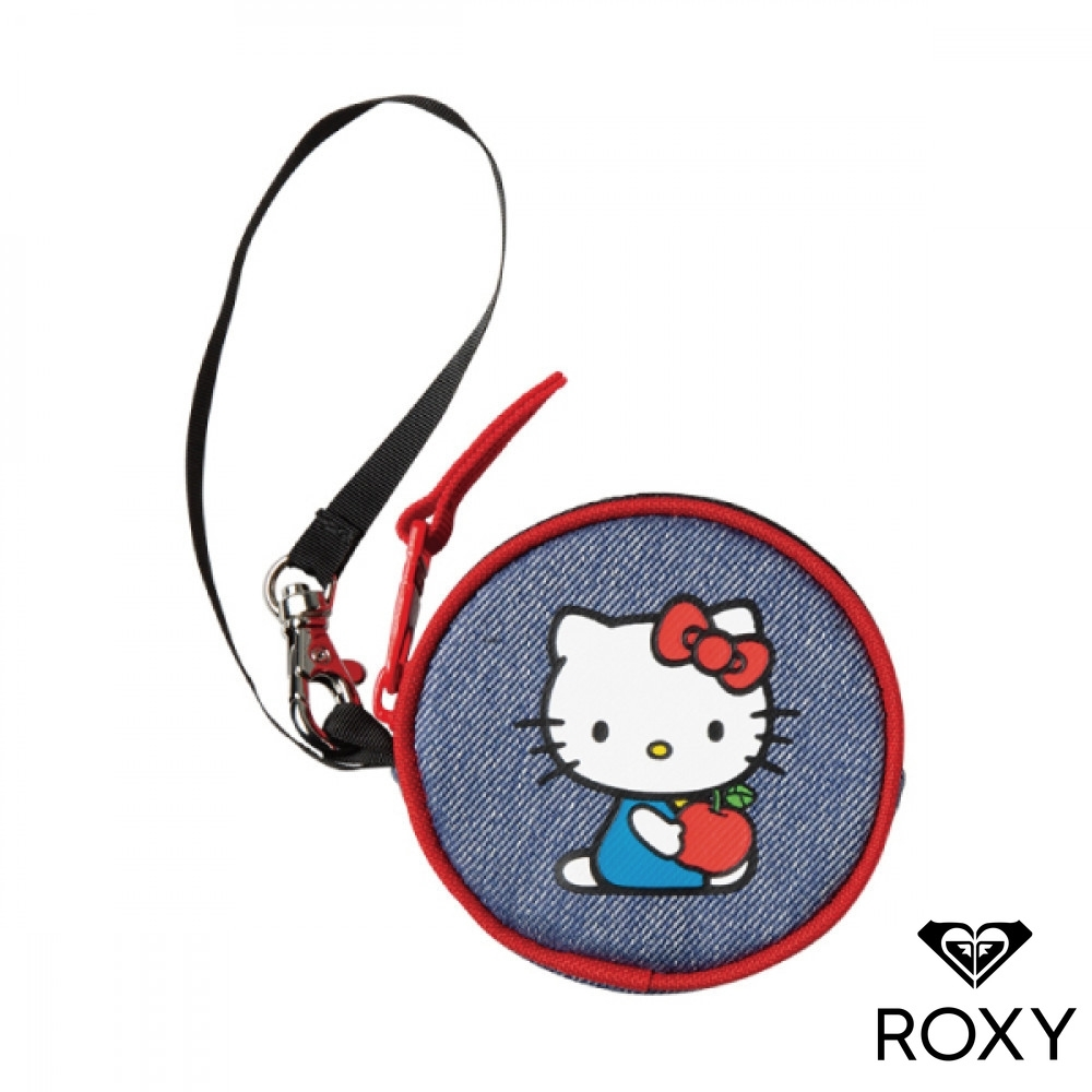 【ROXY】HELLO KITTY COIN CASE 聯名零錢袋 藍色