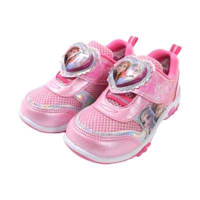 女童台灣製冰雪奇緣閃燈運動鞋 sa94903 魔法Baby