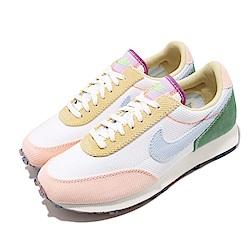 Nike 休閒鞋 W Daybreak 復古 彩色果凍底 女鞋 拼接 燈芯絨 馬卡龍 米白 粉 黃 藍 DA1471148