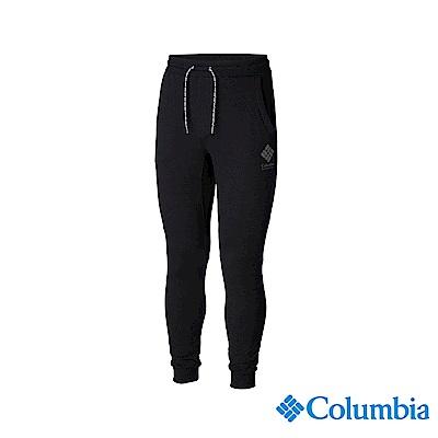 Columbia 哥倫比亞 男款-UPF50棉質長褲-黑色 UAJ07040BK