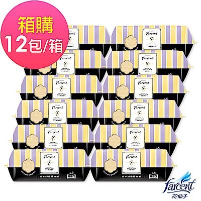 Farcent 香水靜電除塵紙-小蒼蘭英國梨(25張/包,12包/箱)箱購