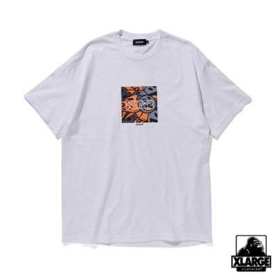 XLARGE S/S TEE SAM by PEN BOMB聯名款短T-白