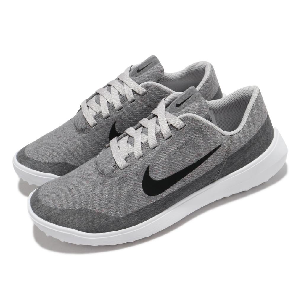Nike 高爾夫球鞋 Victory G Lite 寬楦 男鞋 輕量 舒適 避震 包覆 球鞋 運動 灰 白 CW8227077