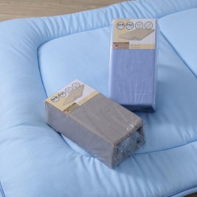 LAMINA 床包式床墊布套(3-17cm)-灰(單人)