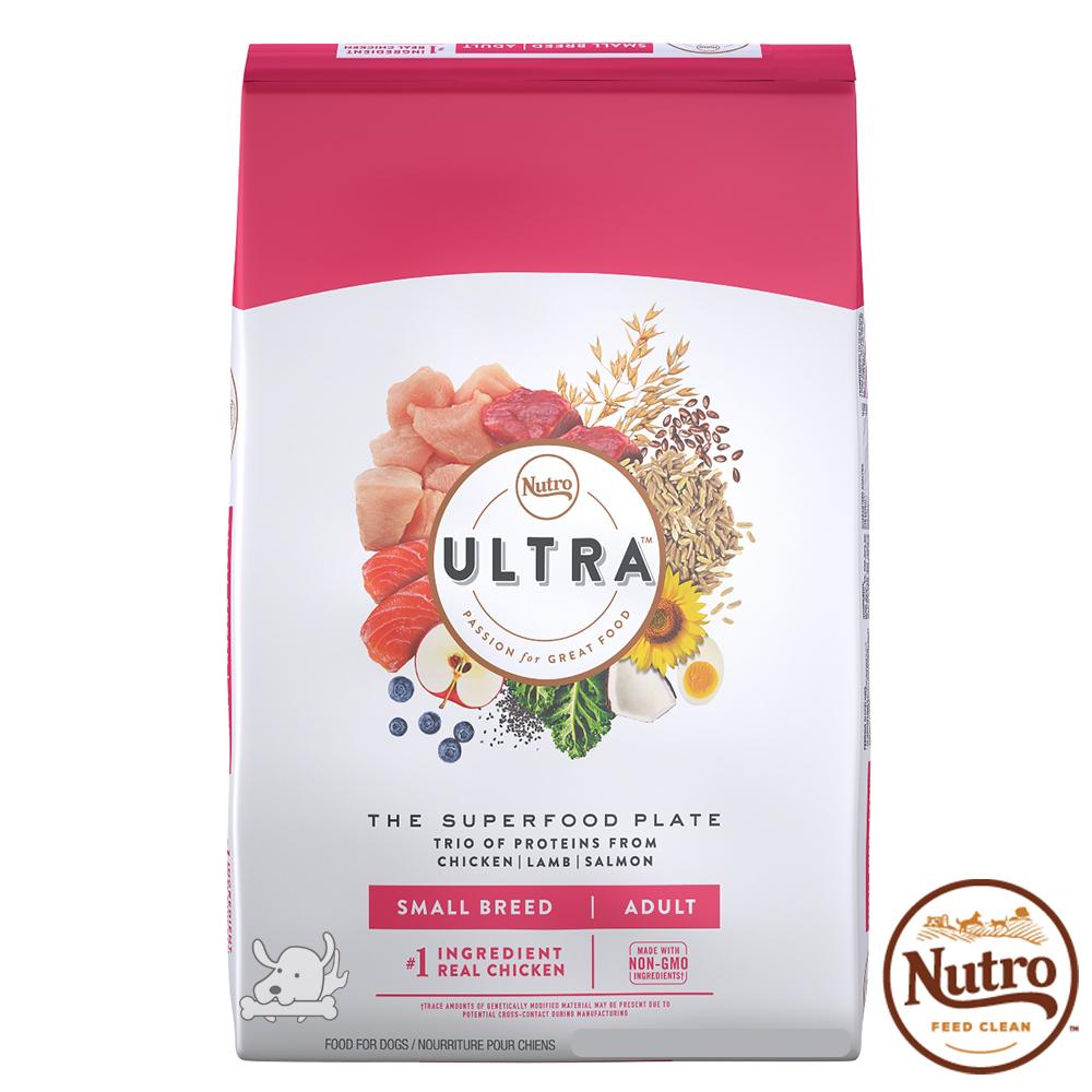 【Nutro 美士】Ultra 大地極品 小型成犬 配方 犬糧 4磅 X 2包