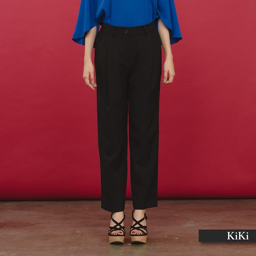 【KiKi】氣質修身顯瘦-長褲(二色)