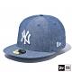 NEW ERA 59FIFTY 5950 CHAMBRAY 洋基 藍 棒球帽 product thumbnail 2