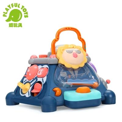 Playful Toys 頑玩具 多合一幼兒聲光遊戲盒 (益智學習互動)