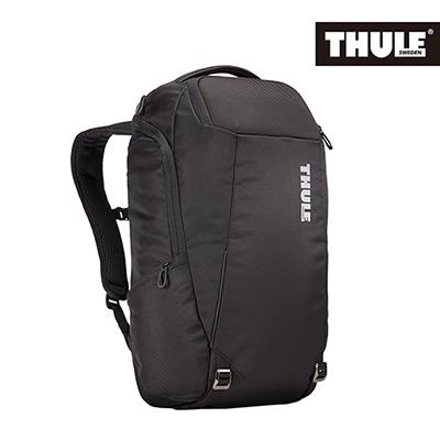 THULE-Accent 28L商旅兩用筆電後背包TACBP-216-黑