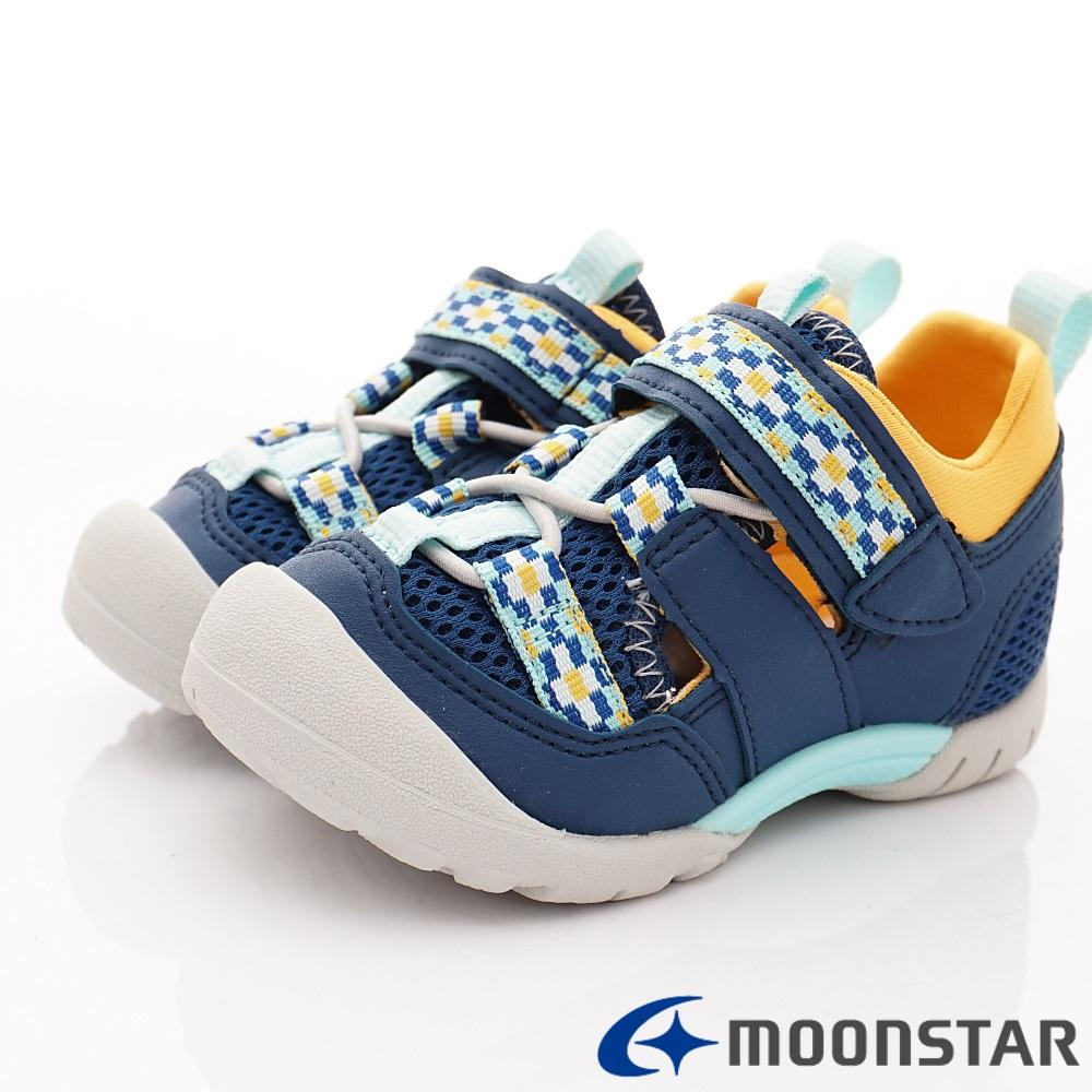 日本Carrot機能童鞋 2E玩耍速乾公園鞋 TW2315深藍(中小童段)