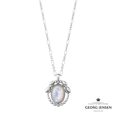 Georg Jensen 喬治傑生 2021 年度 HERITAGE 珍珠母貝硫化純銀項鍊