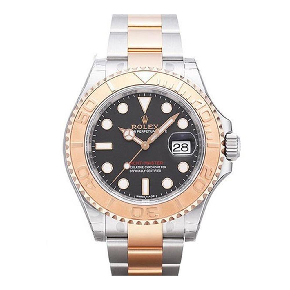 ROLEX 勞力士 116621 遊艇18k玫瑰金腕錶x黑面x/40mm