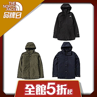 【The North Face】YAHOO限時優惠-北面經典男女款機能經典外套系列(3款任選)