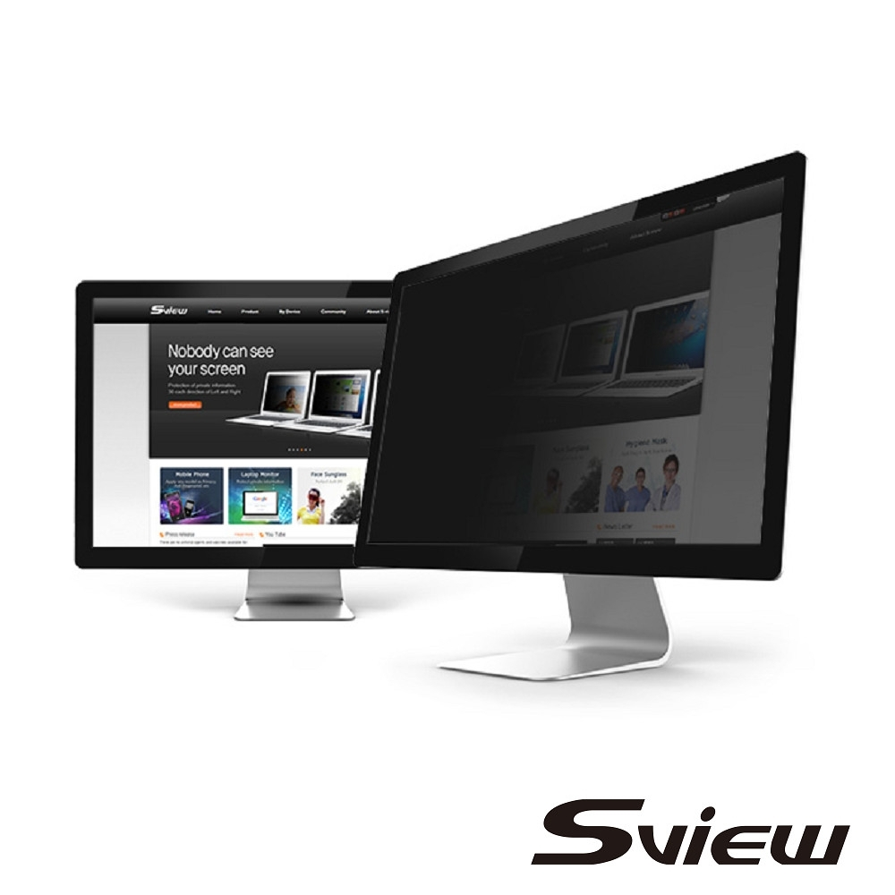 """韓國製造 Sview 24""""W 螢幕防窺片 , ( 16:10, 520mm x 326mm )"""