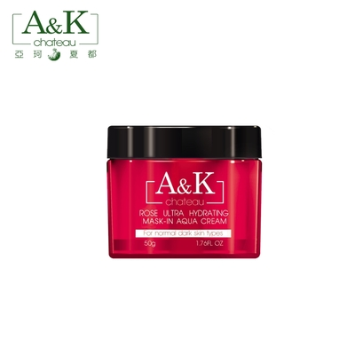 A&K亞珂夏都 月玫瑰超保水晚安凍膜 50g