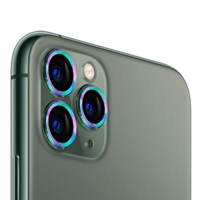 UNIQTOUGH 11 Pro/Pro Max 航太鋁金屬框鏡頭保護鏡/鈦色(限量版)