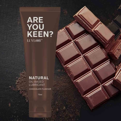 LUVLOOB 純天然極潤油性潤滑液-巧克力