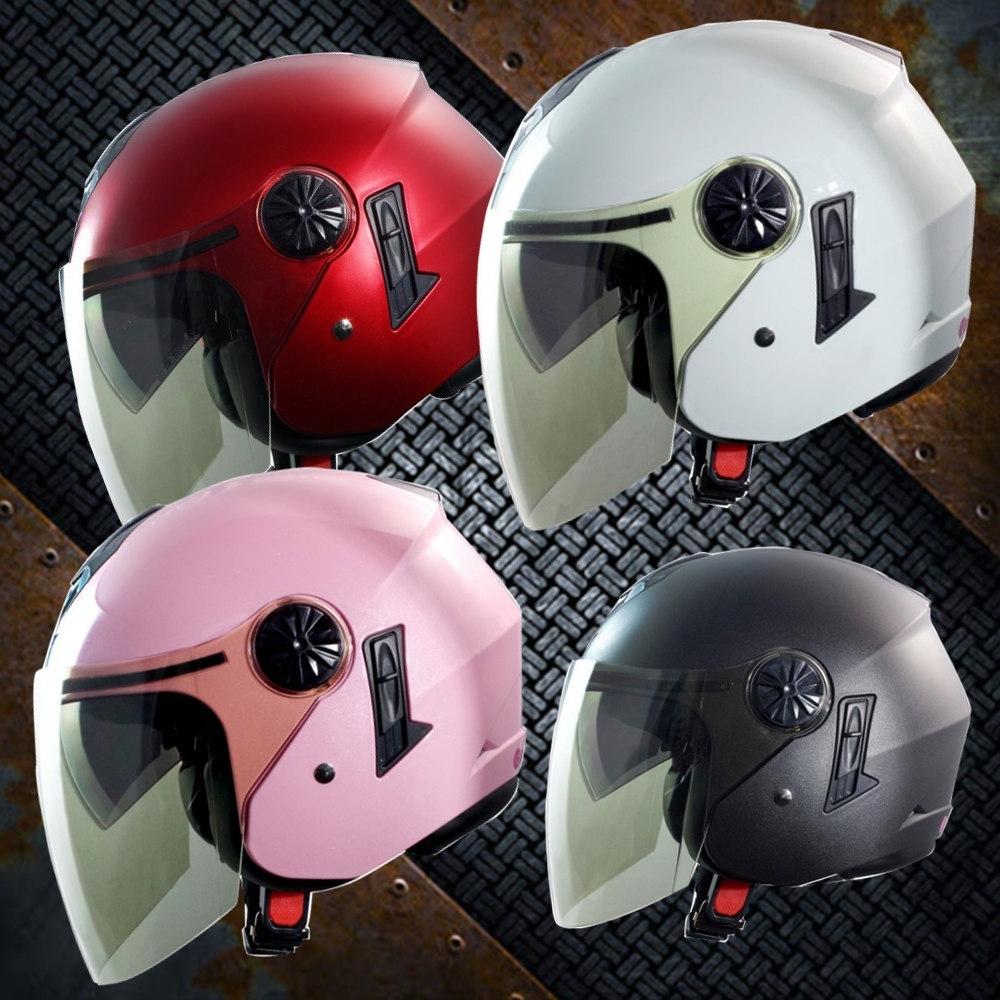 GP-5-時來運轉 繽紛安全帽 │導流通風設計│機車│內襯│開放式安全帽│內墨鏡 (亮白色)