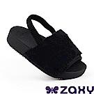 Zaxy 巴西 童魅力甜心 涼鞋-黑色