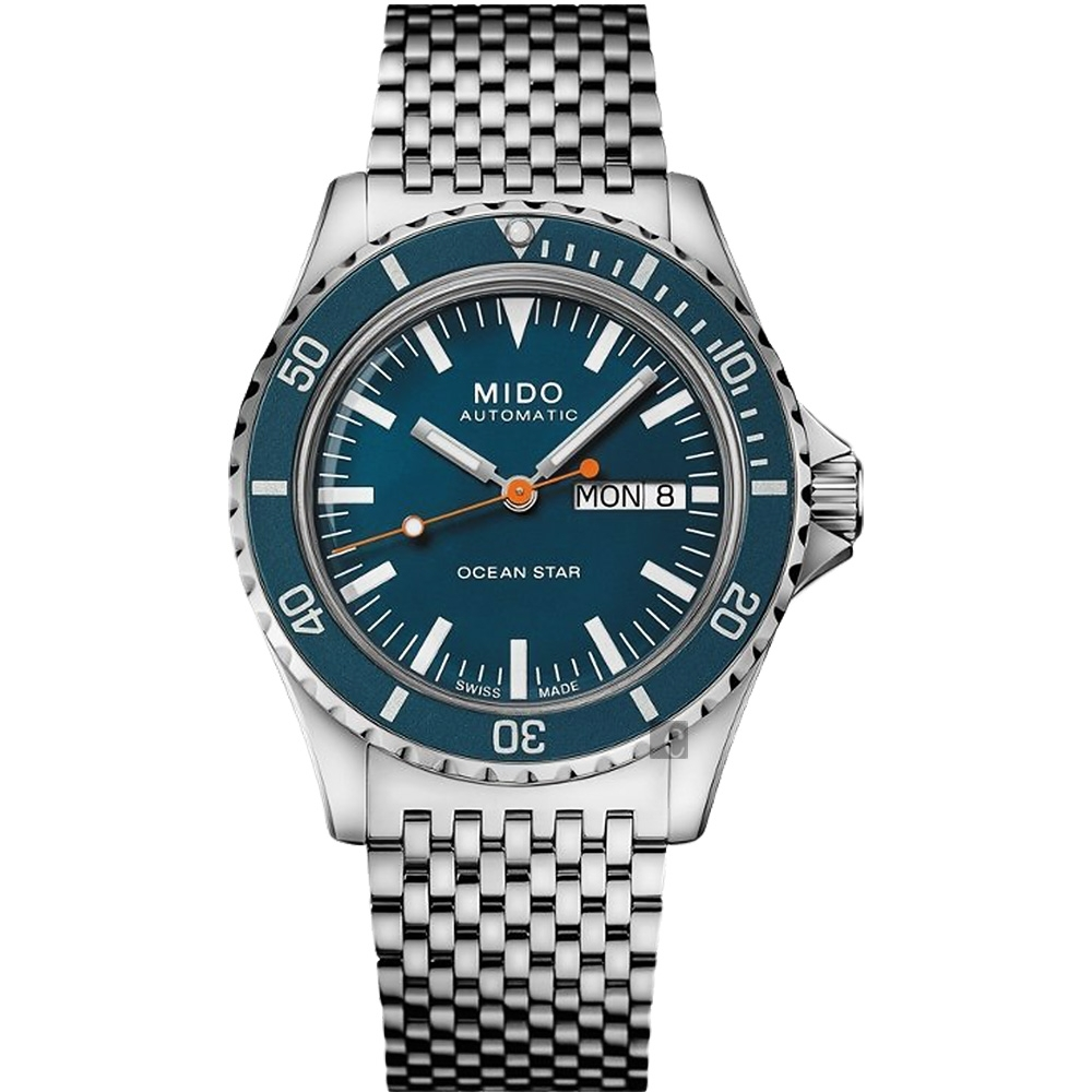 MIDO 美度 Ocean Star Tribute 海洋之星 特別版機械錶-40.5mm M0268301104100