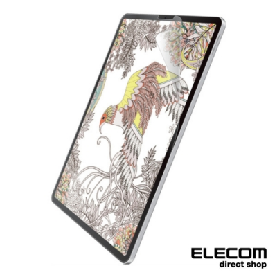 ELECOM iPad Pro擬紙感保護貼-12.9吋上質