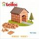 【德國teifoc】DIY益智磚塊建築玩具 - 迷你小屋(TEI1022) product thumbnail 1