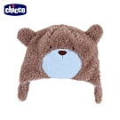 chicco-小熊學校-毛絨造型護耳帽