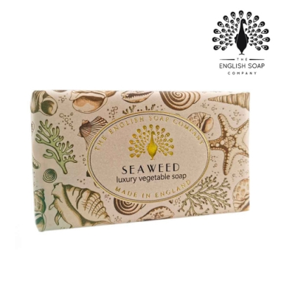 The English Soap Company 乳木果油復古香氛皂-海藻 Seaweed 190g