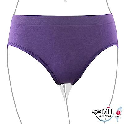推EASY SHOP-iMEWE 中低腰三角褲(紫晶色)