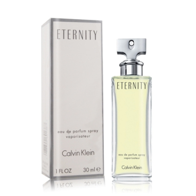 Calvin Klein CK Eternity 永恆女性淡香精30ml EDP-香水航空版