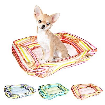 YSS 玉石冰雪纖維散熱冷涼感窩型寵物床墊/睡墊S(3色)