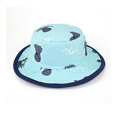 歐美原創設計-男童Q版章魚雙面漁夫帽