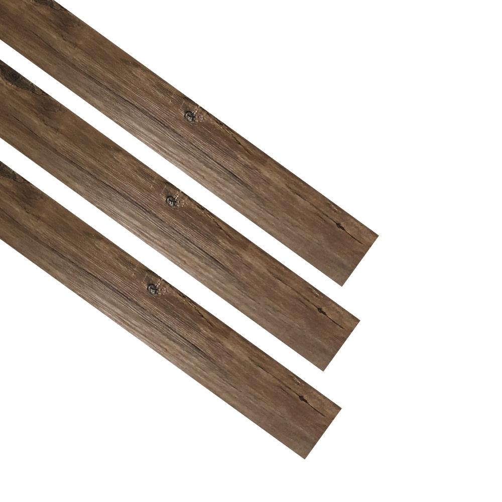 【Effect】日系簡約風DIY防刮耐磨仿木地板(36片/1.5坪) product image 1