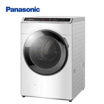 [館長推薦] Panasonic國際牌 18公斤雙科技溫水洗脫變頻滾筒洗衣機-白NA-V180HW-W