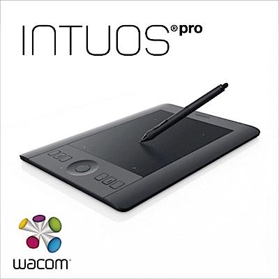 福利品-Wacom Intous Pro 專業版 Touch Small 繪圖板(黑)