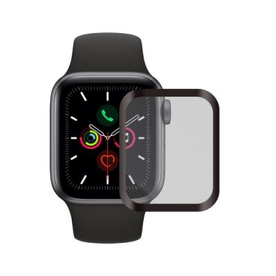 Metal-Slim Apple Watch Series 5 44mm 全膠滿版保護貼