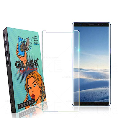 YOUND DI for Samsung Note 9 3D曲面玻璃硬度加強版