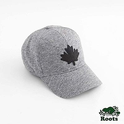 Roots配件- 經典楓葉棒球帽-灰色