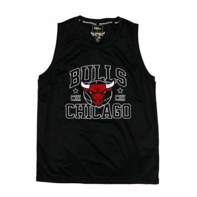 NBA Style C&S 大LOGO 復古風 背心 公牛隊