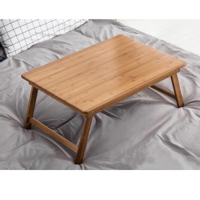 原藝坊   竹製大學生宿舍簡易折疊桌 (平板款)