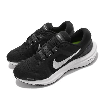 Nike 慢跑鞋 Zoom Vomero 16 運動 女鞋 氣墊 避震 輕量 透氣網布 路跑 健身 黑 白 DA7698-001