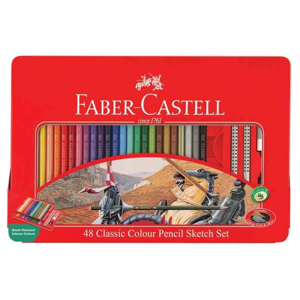 FABER-CASTELL 油性色鉛筆 48色 115849