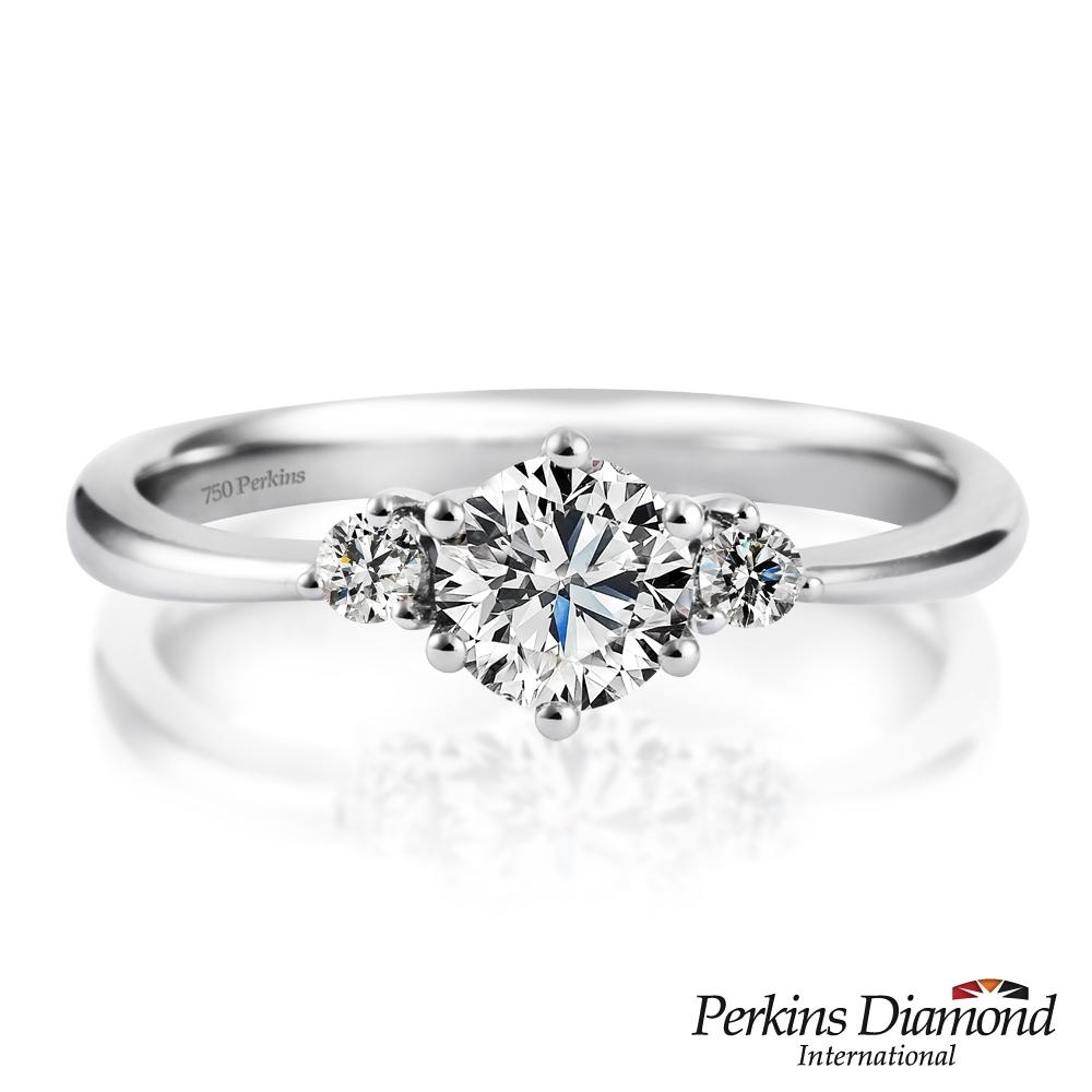 PERKINS 伯金仕-GIA Joseph系列 F/SI1 0.50克拉鑽石戒指